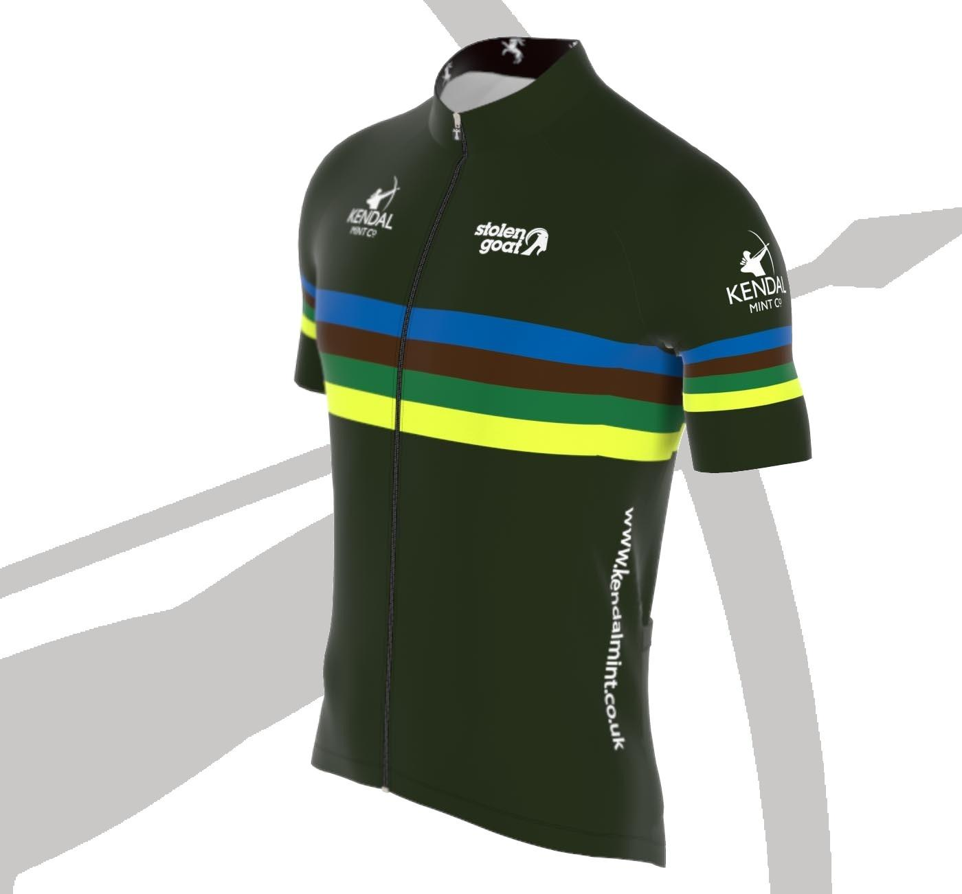 Kendal Mint X SG Bodyline Cycling Jersey Men's (Limited Stock)