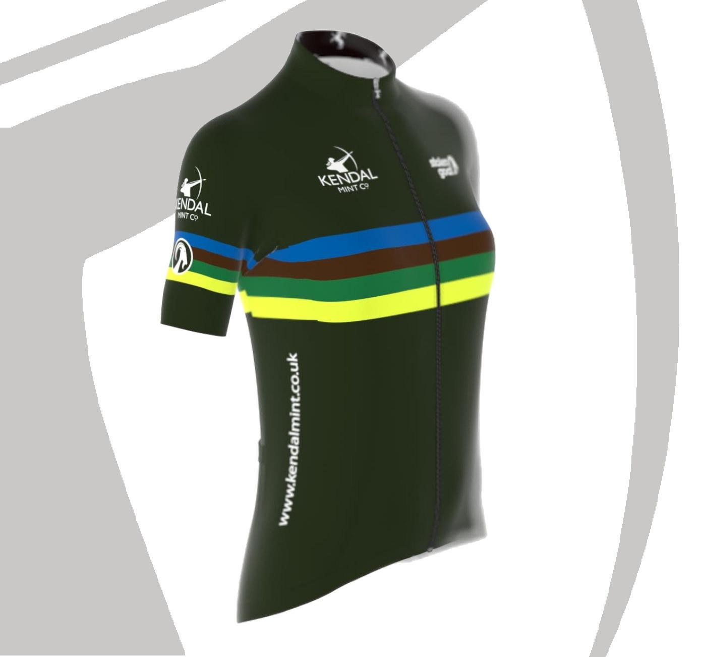 Kendal mint women's bodyline cycling jersey