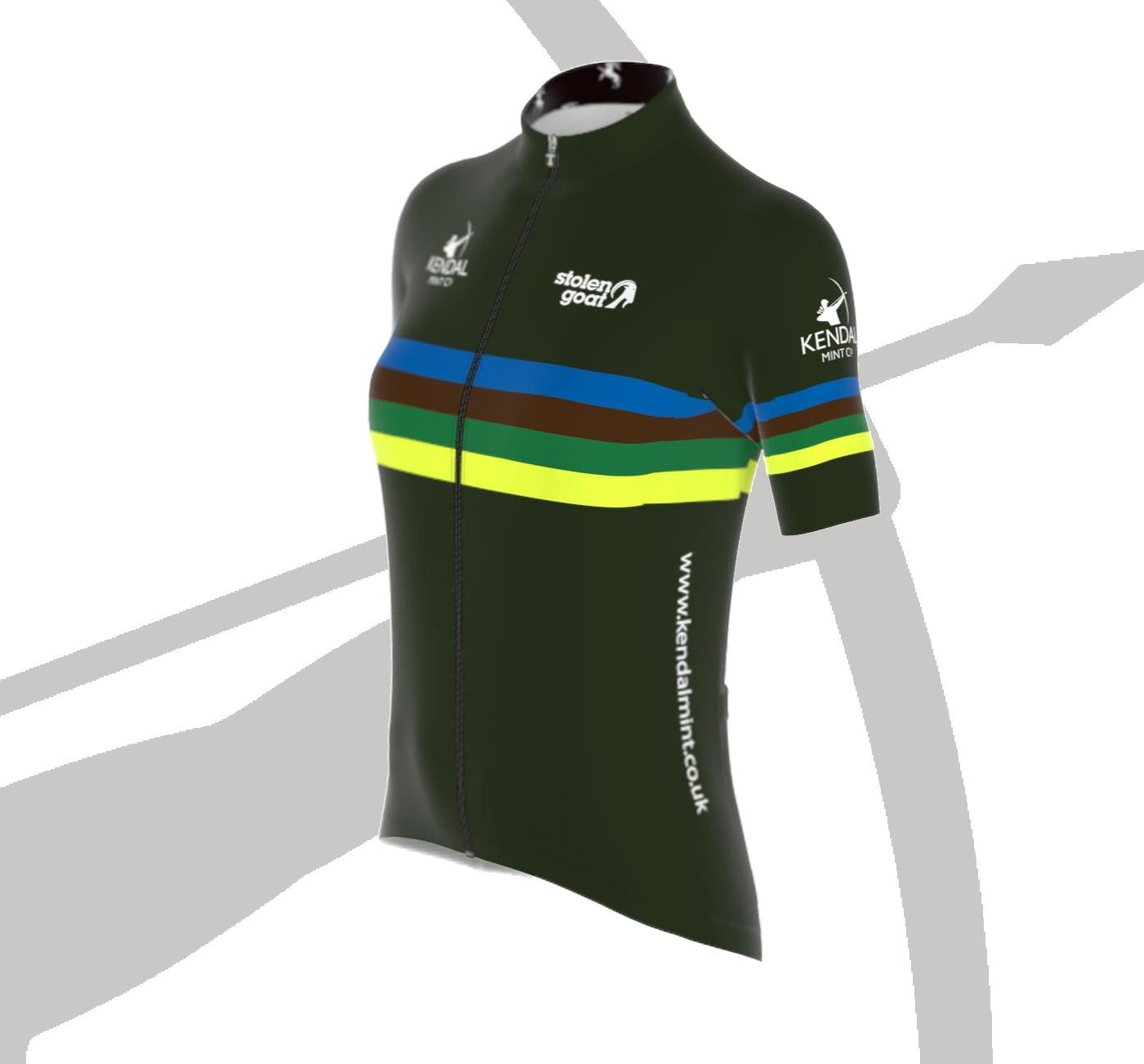 NEW! Kendal Mint Women's Bodyline Cycling Jersey (Limited Stock Available Now))