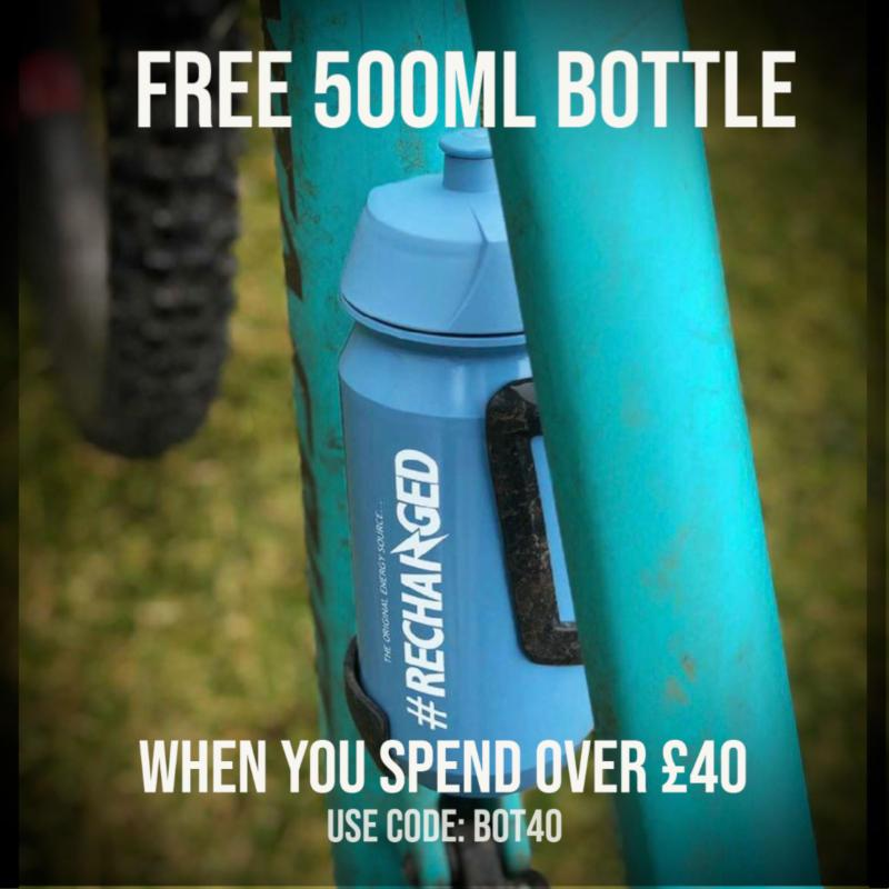 Free bio bottle 500ml when you spend over £40